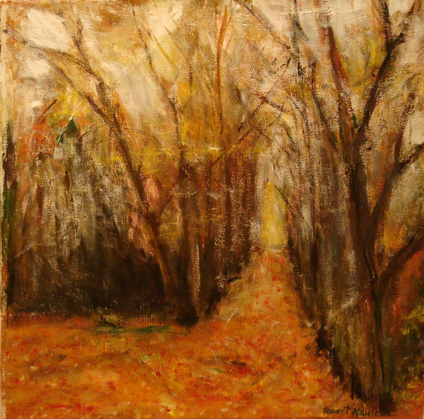 Autumn acrylic on canvas