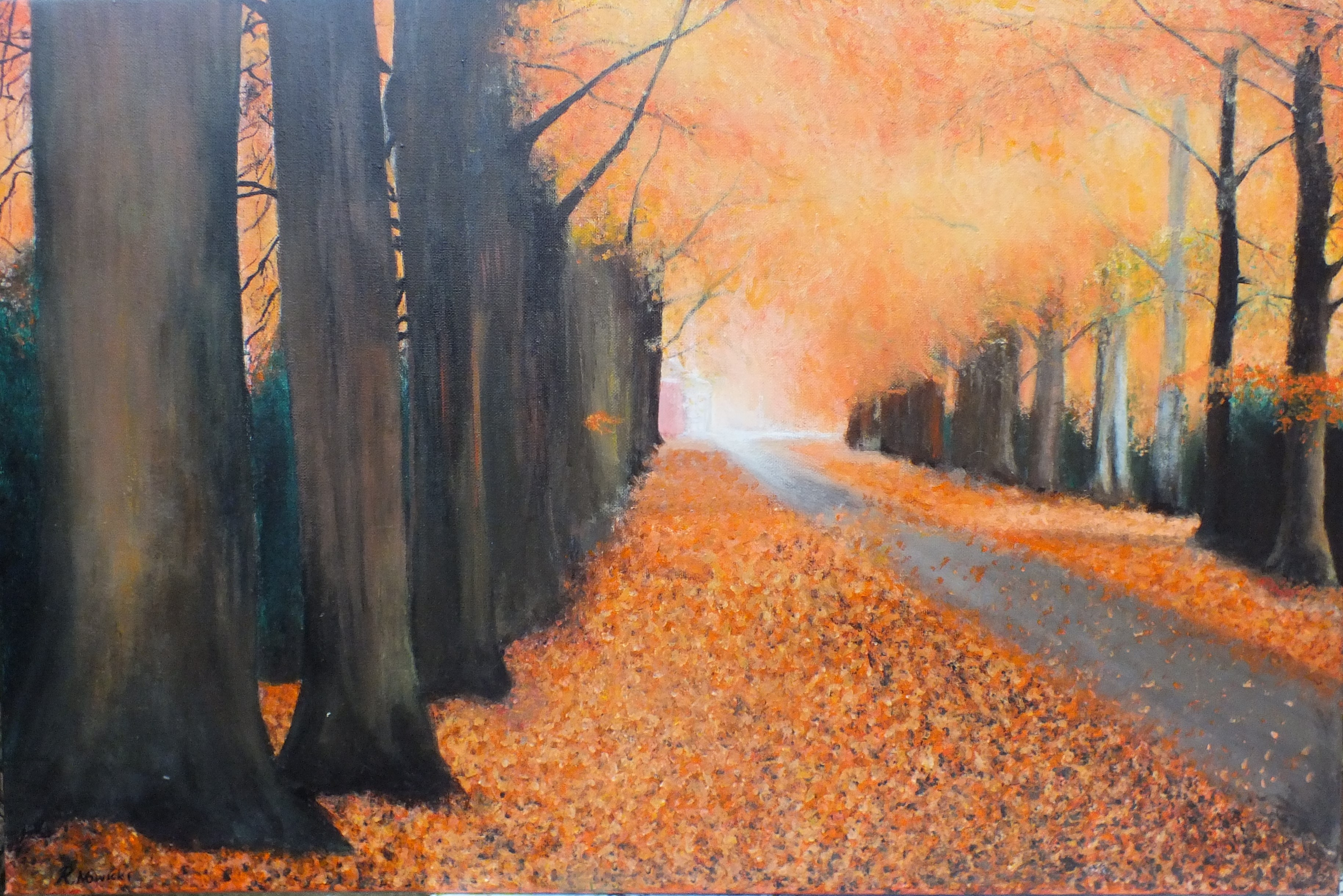 Forest acrylic on canvas
