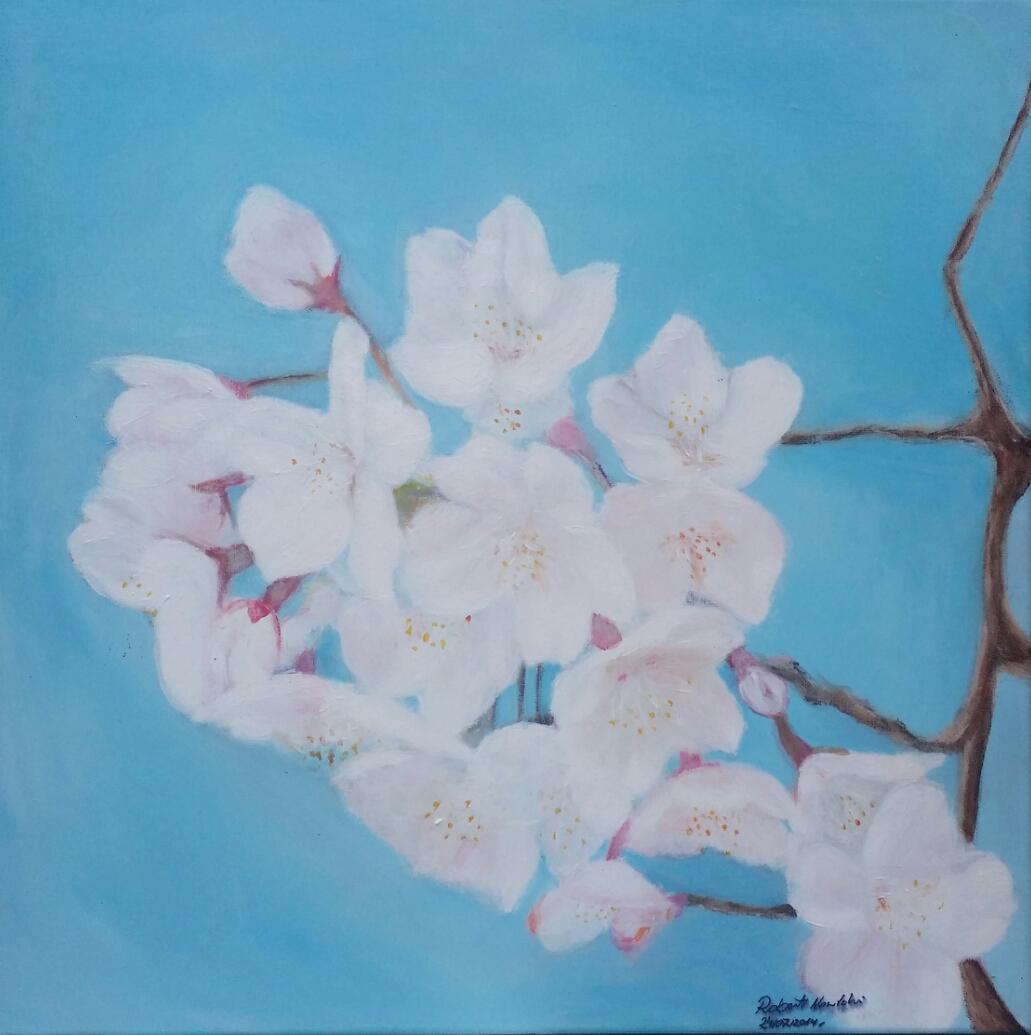 blossom acrylic on canvas